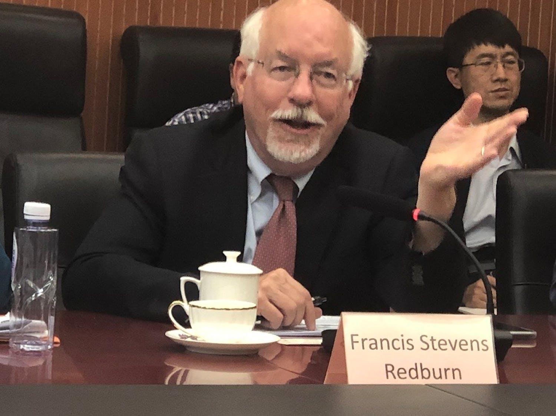 F. Stevens Redburn profile headshot